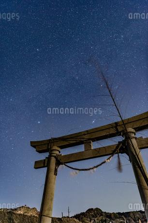 満天の星空の写真素材 [FYI03396935]