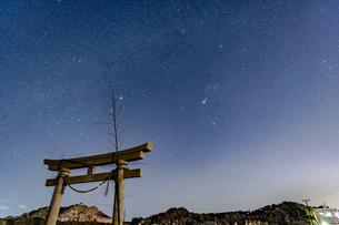 満天の星空の写真素材 [FYI03396940]