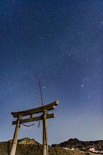 千葉、九十九里の星空の写真素材 [FYI03396944]