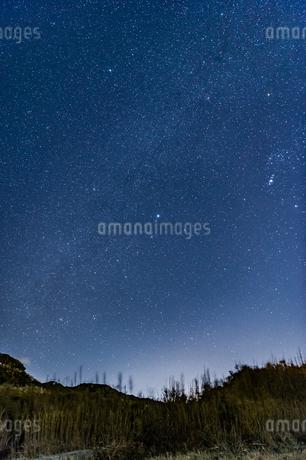 満天の星空の写真素材 [FYI03396945]
