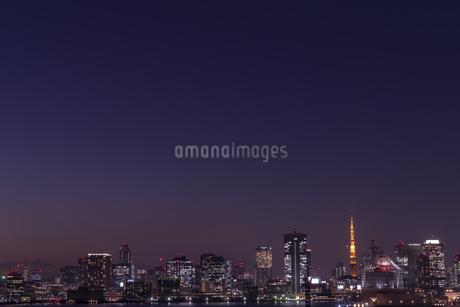 東京タワー夜景の写真素材 [FYI03397187]