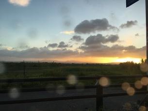 夕日の写真素材 [FYI03397197]