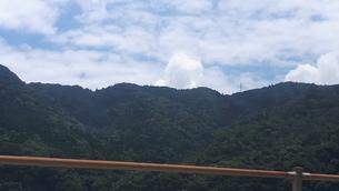 田舎の山と空の写真素材 [FYI03397303]
