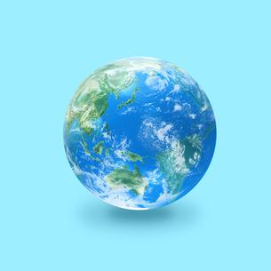 地球の写真素材 [FYI03397680]