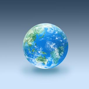 地球の写真素材 [FYI03397681]