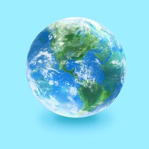 地球の写真素材 [FYI03397682]