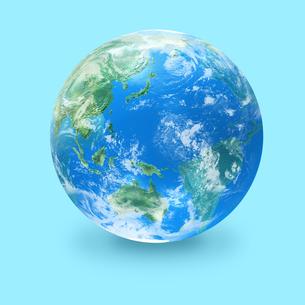 地球の写真素材 [FYI03397683]