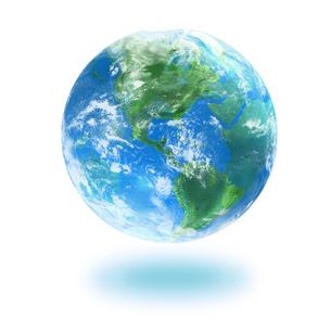 地球の写真素材 [FYI03397685]