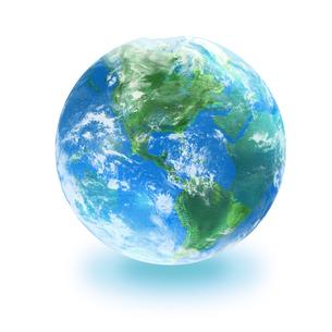 地球の写真素材 [FYI03397686]
