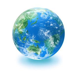 地球の写真素材 [FYI03397687]