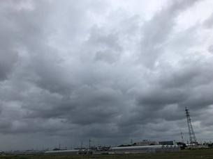 雨雲の写真素材 [FYI03397691]
