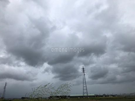 雨雲の写真素材 [FYI03397692]