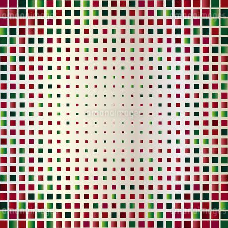 緑色 赤 ラメ 背景のイラスト素材 [FYI03397707]