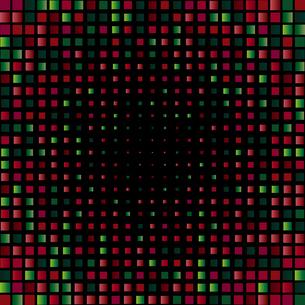 緑色 赤 ラメ 背景のイラスト素材 [FYI03397708]