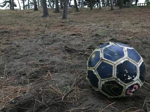 サッカーボールの写真素材 [FYI03397753]