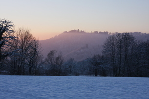 南ドイツ・雪景色の写真素材 [FYI03397770]
