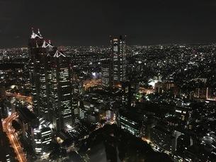 美しい夜景の写真素材 [FYI03398115]