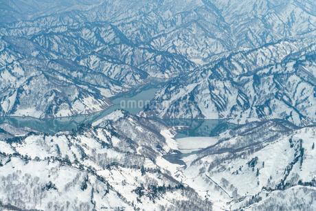 守門岳   mt.sumondake backcountry  japanの写真素材 [FYI03398486]