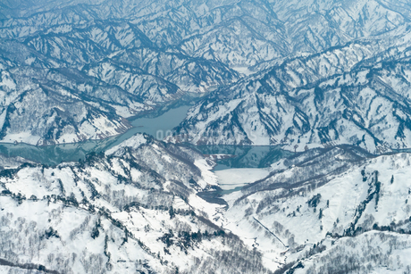 守門岳   mt.sumondake backcountry  japanの写真素材 [FYI03398487]