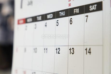 カレンダーの写真素材 [FYI03398514]