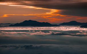 富士山新五合目からの眺め 日本 静岡県 富士宮市の写真素材 [FYI03398769]