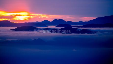 富士山新五合目からの眺め 日本 静岡県 富士宮市の写真素材 [FYI03398770]