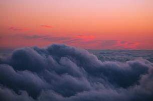 富士山新五合目からの眺め 日本 静岡県 富士宮市の写真素材 [FYI03398771]