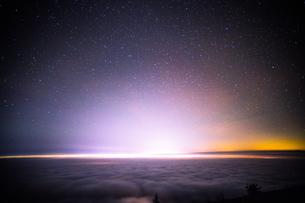 富士山新五合目からの眺め 日本 静岡県 富士宮市の写真素材 [FYI03398774]