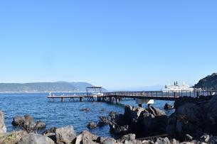 桟橋の写真素材 [FYI03399221]