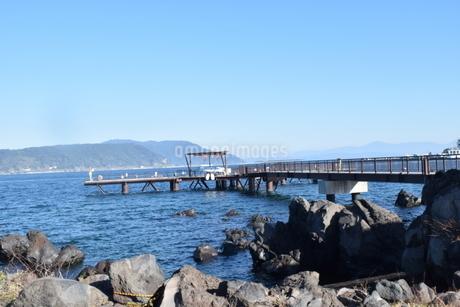 桟橋の写真素材 [FYI03399222]
