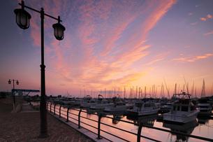 小樽港マリーナの朝の写真素材 [FYI03399287]