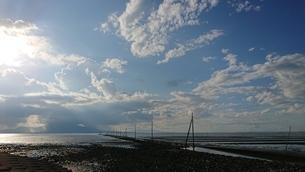 海床路の写真素材 [FYI03399490]