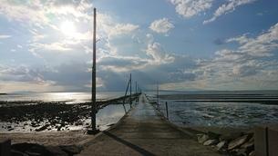 海床路の写真素材 [FYI03399492]
