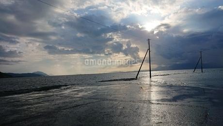 海床路の写真素材 [FYI03399494]