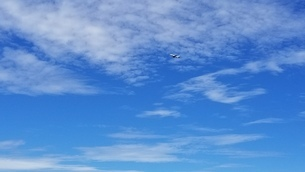 青空の写真素材 [FYI03399666]