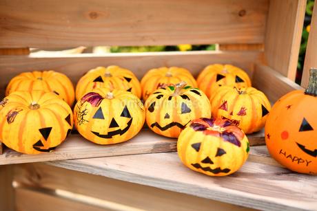 ハロウィンのかぼちゃの写真素材 [FYI03399760]
