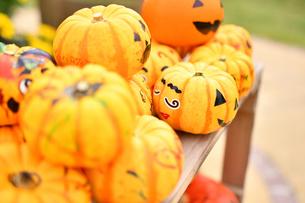 ハロウィンのかぼちゃの写真素材 [FYI03399762]