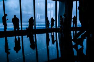 ワンワールドトレードセンタービルの展望台の写真素材 [FYI03399785]