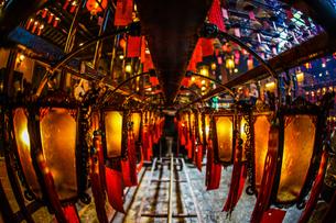 香港・文武廟の写真素材 [FYI03399857]