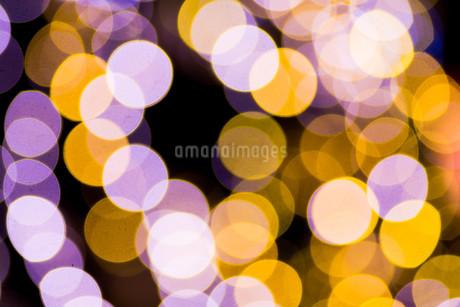 きらめく光の輪の写真素材 [FYI03399885]