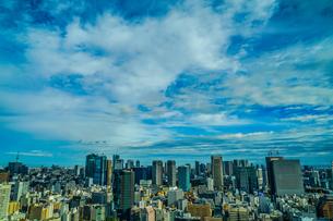 東京タワー展望台から見える東京の街並みの写真素材 [FYI03399905]
