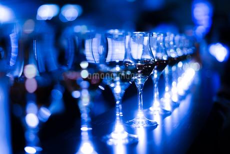おしゃれなワイングラスの写真素材 [FYI03400024]