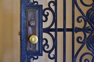 玄関のドアの写真素材 [FYI03400831]