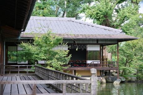 渉成園での日本家屋の写真素材 [FYI03400880]