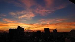 立石夕日 2の写真素材 [FYI03400928]
