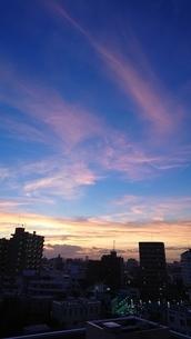 立石夕日3の写真素材 [FYI03400929]