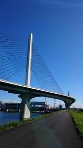 葛飾ハープ橋の写真素材 [FYI03400942]