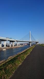 葛飾ハープ橋2の写真素材 [FYI03400943]