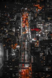 夜の交通イメージの写真素材 [FYI03401045]