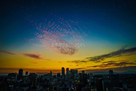名古屋テレビ塔からの夕景の写真素材 [FYI03401046]